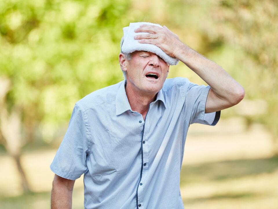 heat illness and sunburn
